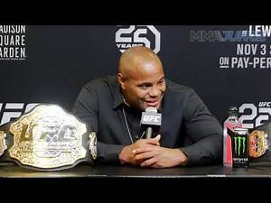 UFC 230: Daniel Cormier talks Brock Lesnar, possible retirement fight date