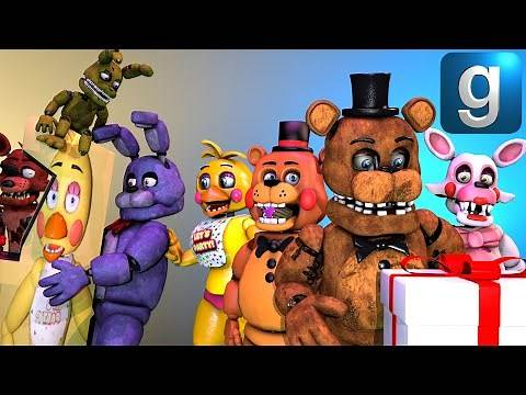 Gmod FNAF | Five Lost Nights At Freddy's [Part 13]