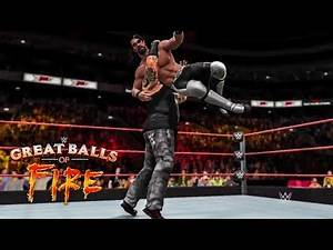 WWE 2K17 Great Balls of Fire 2017 - Seth Rollins vs Bray Wyatt | Prediction Highlights