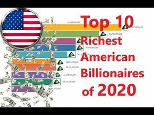 Top 10 Richest American Billionaires of 2020 (Timeline history from Sept. 2015 to Apr. 2020)
