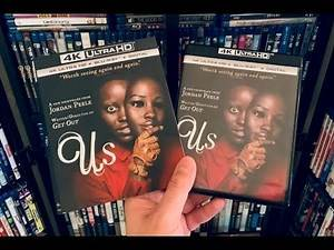 Us 4K BLU RAY REVIEW + Unboxing