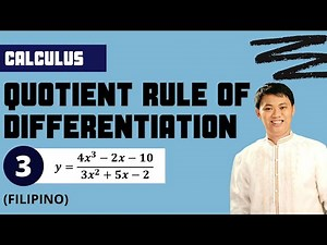 Solved # 3: Quotient Rule of Differentiation - Basic/Differential Calculus