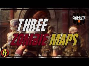 ChrisDeelish Live Streams Call of Duty Black Ops 4 All New Zombies Maps