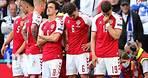 Danish soccer star Christian Eriksen collapses on the field