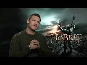 Luke Evans recounts his very physical role in 'The Hobbit: The Battle of Five Armies'
