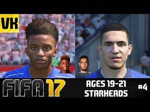 FIFA 17: YOUNG PLAYERS REAL FACES/STARHEADS AGED 19 -21 (Gray, Bentaleb, Galloway + more) #4