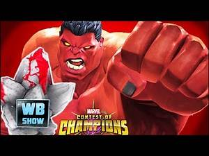 Marvel: Contest of Champions - Super Red Hulk/Heated Crystals Opening!
