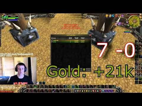 World of Warcraft Feral Druid duels for gold