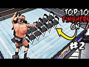 WWE 2K20 Brutal Finishers on Chair Part 2! Top 10