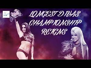 Top 10 Longest Divas Championship Reigns 2018