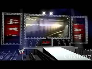 WWE Raw Old School - Chris Jericho Debut Stage HD