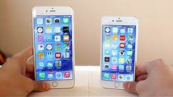 iPhone 6 vs iPhone 6 Plus Comparison