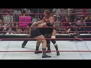 Big Show vs. Triple H - WWE Championship Match: Raw, January 3, 2000