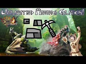 Monster Hunter 4 Ultimate | Unlimited Mining Glitch!
