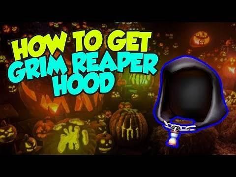 [EVENT] How To Get the Grim Reaper Hood - Roblox Halloween 2018