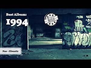 Best HIP HOP Album of each Year (1990-2019)