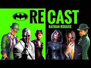 DCEU Batman Villains/Rogues Gallery RECAST [Part 1] - TC Does Comics