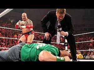 John Laurinaitis reveals he will face John Cena at Over the
