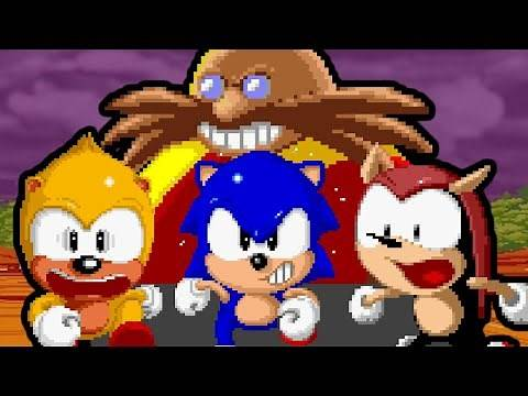 That AMAZING Sonic Arcade Game! (SegaSonic the Hedgehog Review)