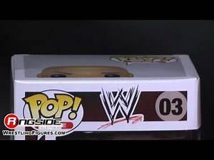 WWE FIGURE INSIDER: The Rock - Pop WWE Vinyl WWE Toy Wrestling Action Figure from Funko