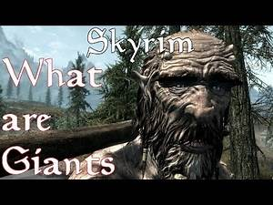 Theories, Legends and Lore: Elder Scrolls Universe- What are Giants?