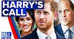Prince Harry considering staying in UK | Royals | 9 News Australia