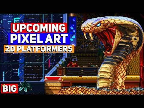 Top 25 Upcoming 2D Pixel Art Platformer Games - 2020 & beyond!