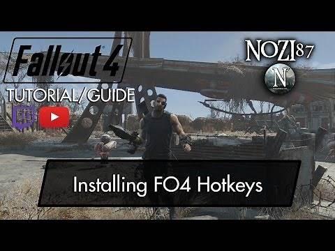 Fallout 4 Mod Tutorial/Guide: Installing FO4 Hotkeys