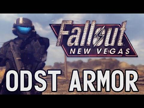Fallout New Vegas Mods :: MK117 Prototype Combat Power Armor (Halo ODST Armor & Weapons)