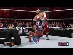 EDDIE GUERRERO VS SHAWN MICHAELS WWE 2K17