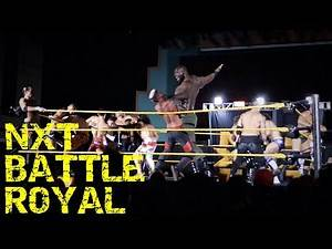 WWE's NEW GIANT in NXT Battle Royal