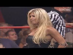 Torrie Wilson in Black Leather Pants Top on WCW Nitro (July 31, 2000)