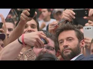Hugh Jackman talks 'Wolverine the Musical' and refuses to sing for reporter