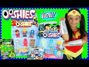 OOSHIES SURPRISE TOYS Marvel vs DC vs TMNT Limited Edition Found! Wonder Woman Dress UP