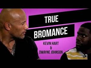 Kevin Hart & Dwayne Johnson Have The Best Bromance Ever