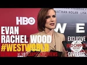 "Evan Rachel Wood Interviewed at HBO's ""Westworld"" Season 2 Premiere Event #Westworld #HBO"