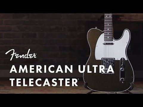 American Ultra Telecaster | American Ultra Series | Fender
