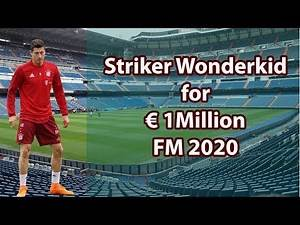 16 Years Wonderkid Striker for €1M - You Must Buy in Football Manager 2020