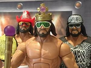 """Macho King"" Randy Savage WWE Mattel elite Hall of Fame series 2015 wrestling figure review"