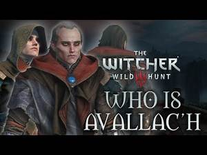 Who Is Avallac'h? - Witcher Character Lore - Witcher lore - Witcher 3 Lore