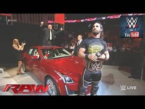 Seth Rollins gives gifts to Kane and J&J Security: Raw, June 29.06.2015