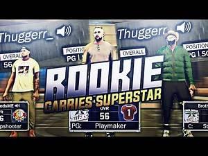 HELPING ROOKIES REP UP AND GET WINS...REVERSED!! ROOKIE CARRIES SUPERSTARS