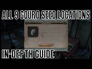 Sekiro Shadows Die Twice - All Gourd Seed Locations (Ultimate Healing Gourd Trophy Guide)