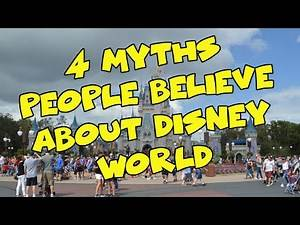 4 Myths People Believe about Disney World- Confessions of a Theme Park Worker
