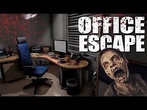 OFFICE ESCAPE (New Map)(Call of Duty Zombies Mod)