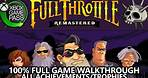 Full Throttle Remastered - 100% Achievement/Trophy Guide - Full Game Walkthrough (Xbox Game Pass)