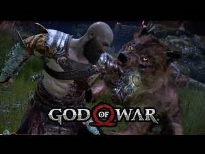 God Of War Kratos Bitten And Killed By Wolves