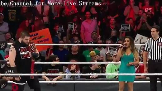 Roman Reigns Vs Kevin Owens Universal Championship Match WWE RoadBlock 2016 hd