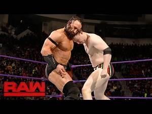 """Gentleman"" Jack Gallagher & TJ Perkins vs. Neville & Tony Nese: Raw, Feb. 27, 2017"