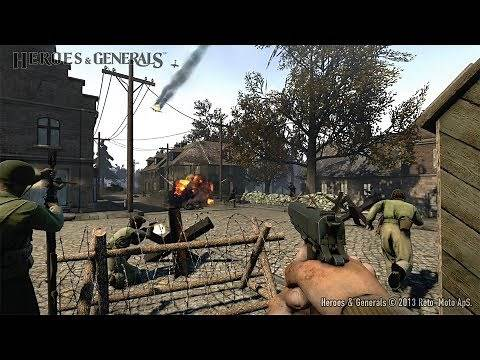 BEST FREE ONLINE GAME ABOUT WW2 on PC ! FPS Heroes and Generals